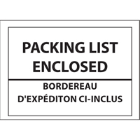 Packing List Envelopes PB244 | Equipment World