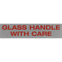 """Glass Handle with Care"" Special Handling Labels PB420 