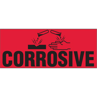 """Corrosive"" Special Handling Labels PB422 