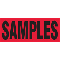 """Samples"" Special Handling Labels PB424 