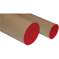 Postal Tubes - Plug-Seal Mailing & Packaging Tubes PC089 | Equipment World