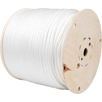 "ROPE NYLON WHITE 3/8"",600' PE871 