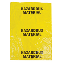 Hazardous Waste Bags SEK328 | Equipment World